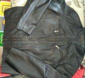 Мужская коженая куртка