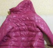 Теплая куртка в хорошем состоянии