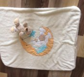 Одеялко двойное махровое