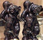 Скульптура медведи