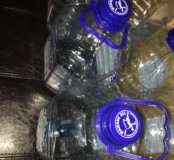 Баклажки из под питьевой воды Шишкин лес 5л