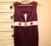 Платье атлас 44-46