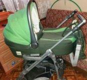Детская коляска 2 в 1 бу.