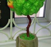 Топиарий-дерево , приносящее счастье!
