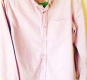 Бледно-сиреневая рубашка