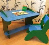 Стол и стул детский .делали на заказ