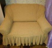 Чехол на мини диван