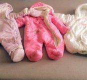 Комбинезоны для новорождённых (весна-осень )