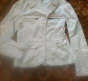 Джинсовый пиджак!