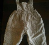 Утепленные штаны,разм 68