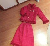 Куртка и юбка на девочку