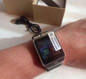Новые Smart Часы DZ09 для спортивных людей