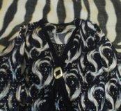 Блузка с блестками