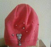 Новая шапочка на малышку