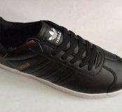 Кроссовки Adidas Gazelle кожаные 41-45р