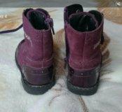 демисезонные сапожки ботинки