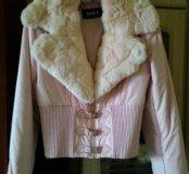 Очень классная розовая куртка