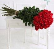 Розы гиганты. Высокие розы.