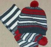 Шапка+шарф (Славянка)