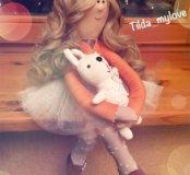 Интерьерная, текстильная кукла