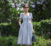 Платье льняное новое
