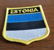 Нашивка Эстония