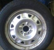 колёса R - 14 на дисках на ВАЗ.