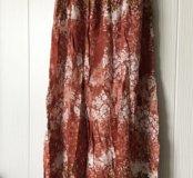 Платье в пол 46