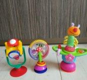 Игрушки на столик для кормления Sassy, Taf Toys, K