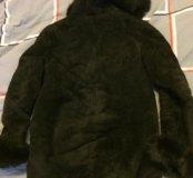 Дублёнка женская прямая