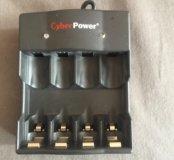 Зарядка для батареек cyberpower