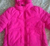 Куртка весна-осень, можно на беременную и кормящую