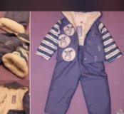 Новый демисезонный костюм 80-86