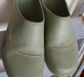 Ботинки садовые