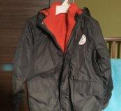 Демисезонная куртка 3в1 рост 98-104