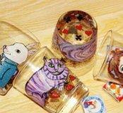 Набор стаканов Алиса в стране чудес
