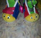 Монтесори развивающие обучающие ботиночки