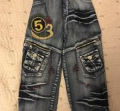 Новые джинсы 110-116