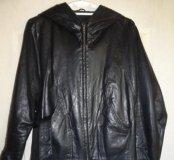 Куртка кожаная 46