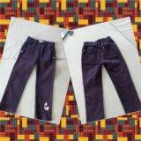 Микровельветовые брюки на девочку