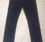 Мужские джинсы,микровельвет