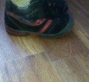 Ботинки фирмы Зебра