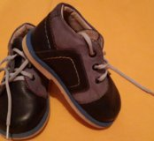 Удобные ботинки на мальчика 20