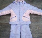 Детская зимняя куртка со штанами
