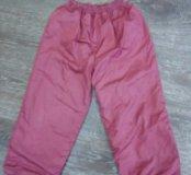 Детские болоневые штаны на весну