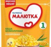 Каша Малютка кукурузная безмолочная. 6 штук