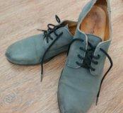 Ботинки или туфли кожа