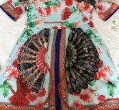 Платье dolce gabbana детское