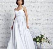 Прямое свадебное платье новое