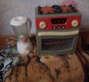 Плита и блендер